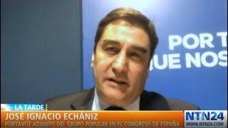 """""""Delcy Rodríguez estuvo en España y ha transgredido las reglas europeas"""": Echániz"""
