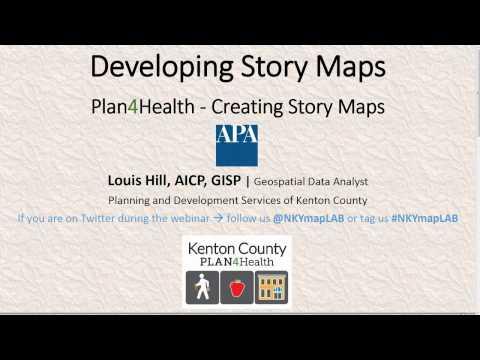 Plan4Health: Creating Story Maps