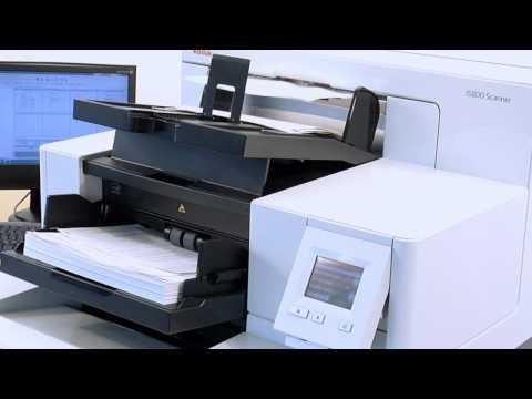 Kodak i5800 Scanner - Mixed Documents