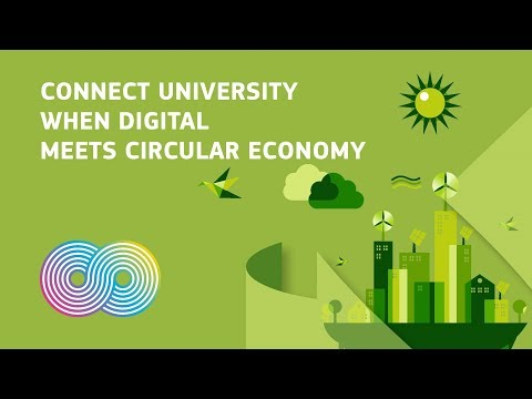 """CONNECT University Session on """"When Digital meets circular economy"""" photo"""