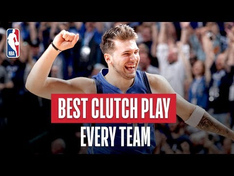 NBA's Best Clutch Play Of Every Team | 2018-19 NBA Season