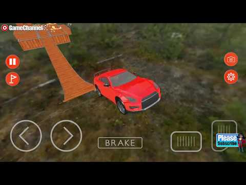 connectYoutube - Impossible Tracks Car Stunt Car Racing 3D Simulation / Android Gameplay Video