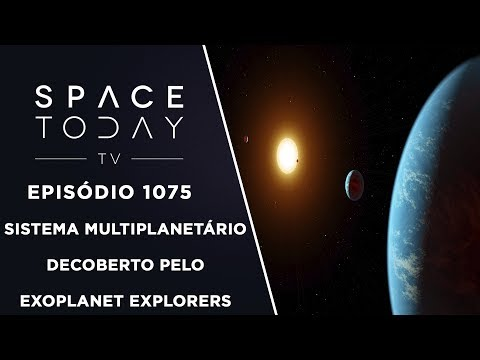 connectYoutube - Sistema Multiplanetário Descoberto Pelo Exoplanet Explorers - Space Today TV Ep.1075 #AAS231