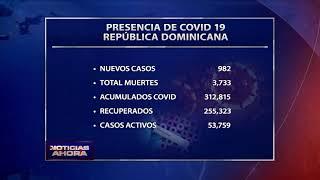 Salud Pública reporta 982 nuevos casos y siete muertes por coronavirus