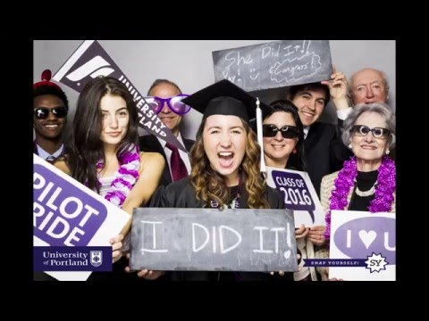 University of Portland 2016 Commencement Slideshow