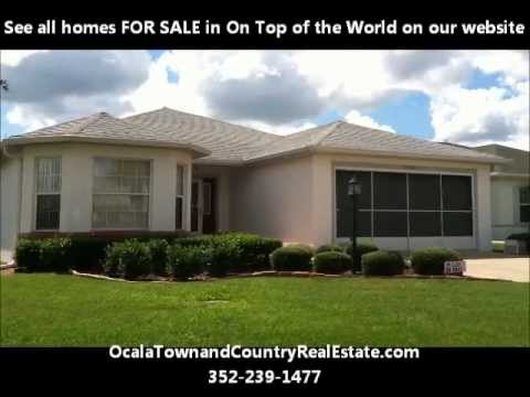 Homes For Sale On Top of the World Retirement Ocala Fl
