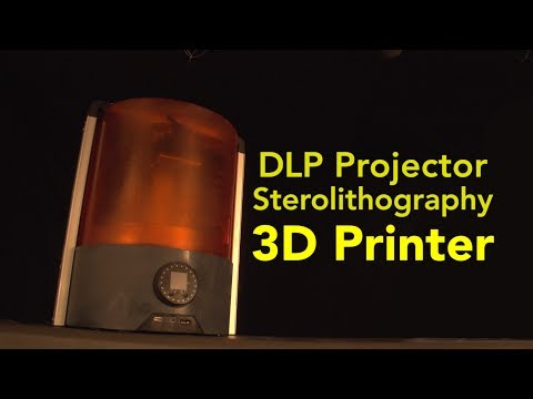 connectYoutube - DLP Projector Stereolithography 3D Printer