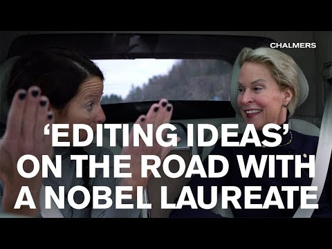 'EDITING IDEAS' ON THE ROAD WITH A NOBEL LAUREATE