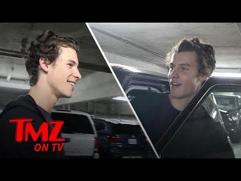 Shawn Mendes Can't Find His Car, Has Great Time Finding It With TMZ Camera Girl   TMZ