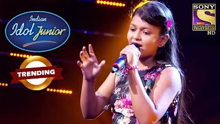Niharika की Classical Performance Judges को लगी Outstanding | Indian Idol Junior | Trending - SETINDIA