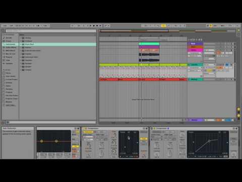 Ableton Live Tutorial: Sidechain Compression