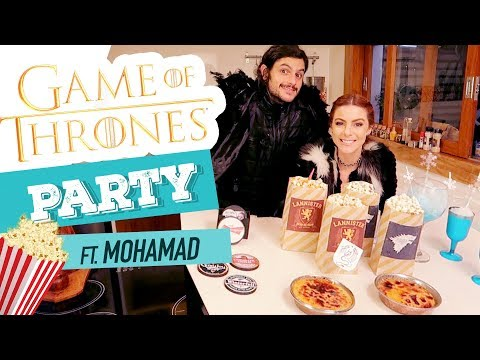 DIY Game of Thrones Party - Season Finale ft. Mohamad
