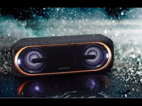 CES 2017: Sony's New XB40 Portable Speaker (First Look)