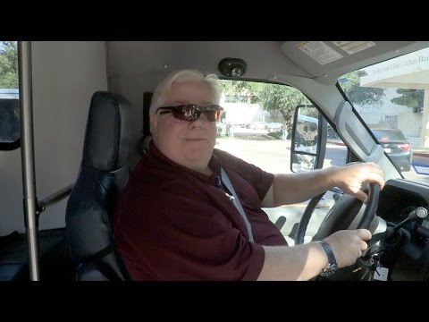 I Am BCM: Bob Layton, shuttle driver