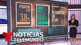 Más de un millón de personas se quedaron sin empleo durante la última semana | Noticias Telemundo