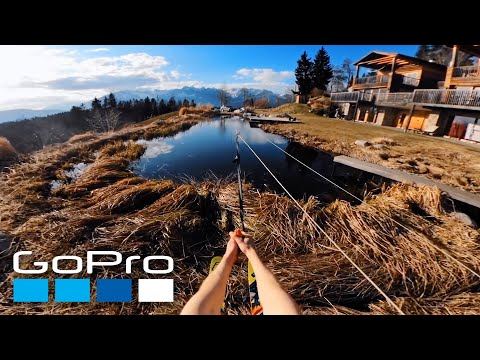 GoPro Awards: #HomePro Backyard Waterskiing