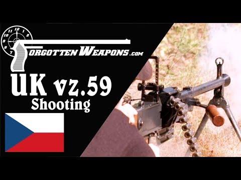 connectYoutube - UK vz.59 Czech Universal Machine Gun: Shooting