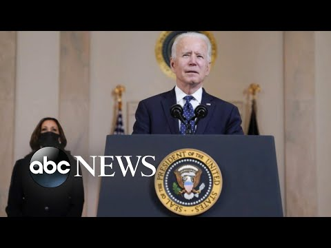 Biden and Harris address nation after Chauvin guilty verdict