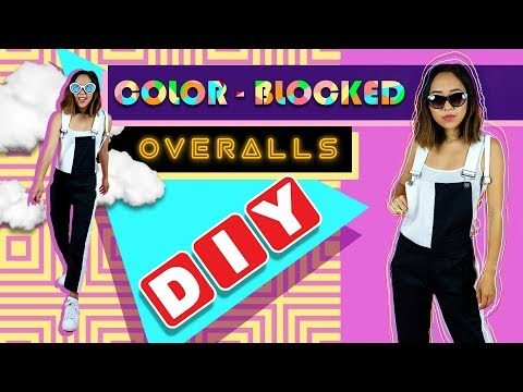 DIY Color-Blocked Overalls | Made From Scratch