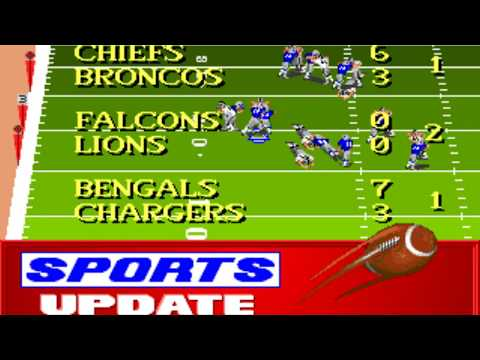 NFL Football (Week 2: Raiders - Seahawks) (Distinctive Software) (MS-DOS) [1992] [PC Longplay]