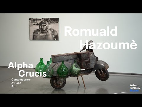 "Interview with Romuald Hazoumè | ""Alpha Crucis – Contemporary African Art"""
