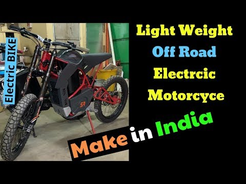 Offroad Electric Motorcycle Make In India - Project SR Bike