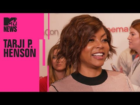Taraji P. Henson on 'What Men Want' & How It Differs From 'What Women Want' | CinemaCon | MTV News