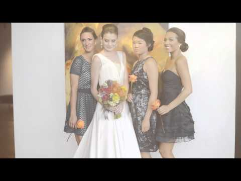 Tara LaTour Wedding Dress & Bridal Party in Blue, Modcloth Bridesmaid Dresses Video - mywedding