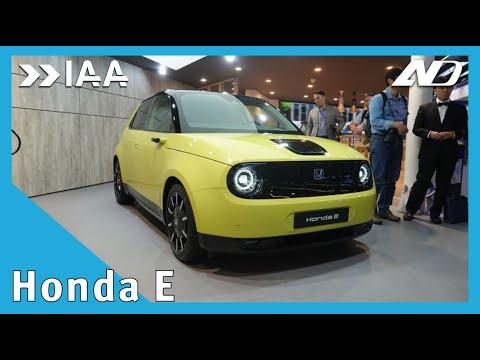 El Honda totalmente eléctrico: Honda-e - IAA2019