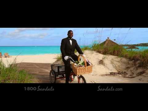 """Sandals Resorts - """"Five-Star Luxury Included Vacations"""" Commercial"""