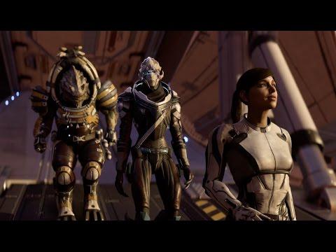Mass Effect Andromeda Game Awards Gameplay Demo in 4K