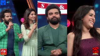 Pradeep Machiraju Hilarious Fun with Team Leaders - Dhee Champions (#Dhee12) - 7th October 2020 - MALLEMALATV