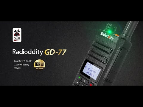 cheap dmr fm radio is a game changer with opengd77 fw