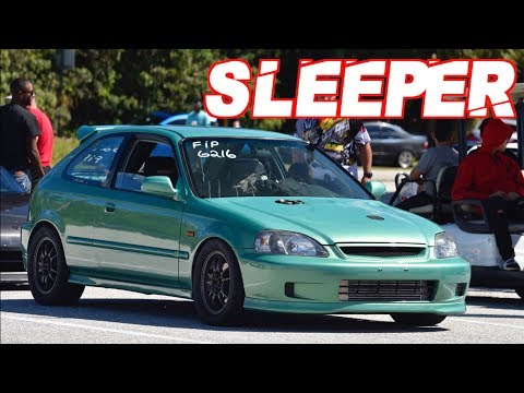 "Sleeper 960HP AWD Civic Runs 8's on Street Tires! The Perfect Street Honda"""