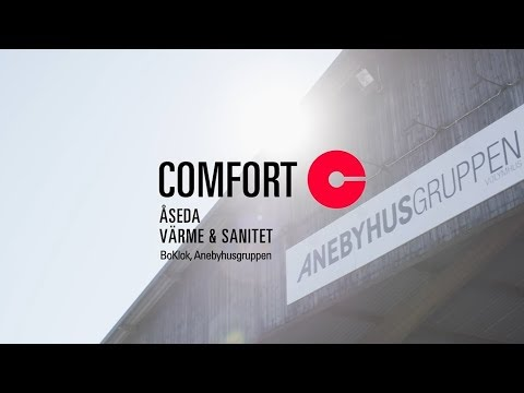 Comfort Projekt: Comfort Åseda Värme & Sanitet med BoKlok och Anebyhusgruppen