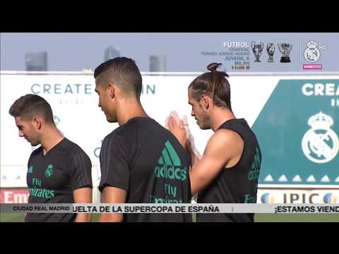 SPANISH SUPER CUP | Real Madrid prepare for the visit of Barcelona!