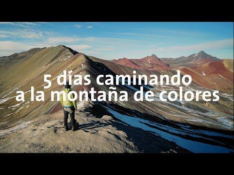 5 días caminando a la montaña arcoíris de Perú!! | Alan por el mundo Perú #17
