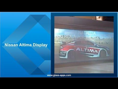 Glass Apps® Nissan Altima Display