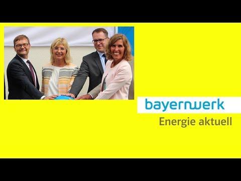 Energie aktuell: Wasserkraftwerk Baierbrunn von Ulrike Scharf eingeweiht