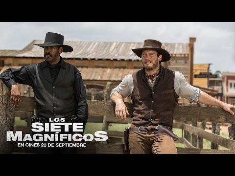 LOS 7 MAGN�FICOS con Denzel Washington y Chris Pratt. En cines 23 de septiembre.