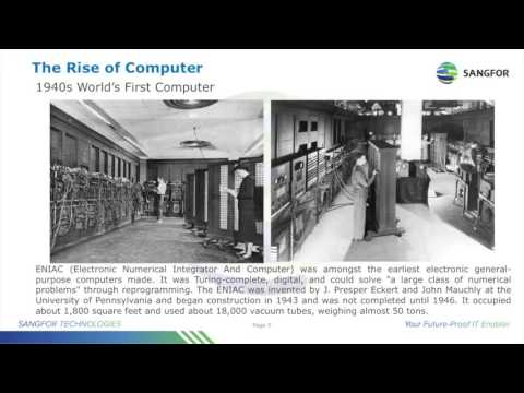 Sangfor HCI Partner Sales Training Session 1   Basic IT History and Knowledge of HCI
