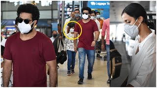 Young Tiger NTR Spotted At Airport Today With Family | Lakshmi Pranathi | Abhay Ram | TFPC - TFPC