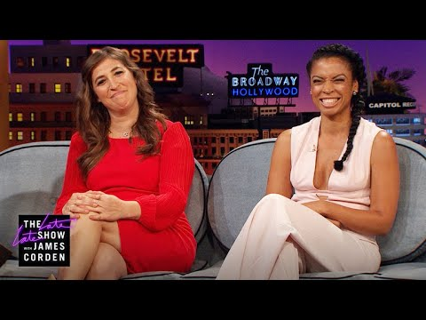 Mayim Bialik & Susan Kelechi Watson Are Always Ready to Sing