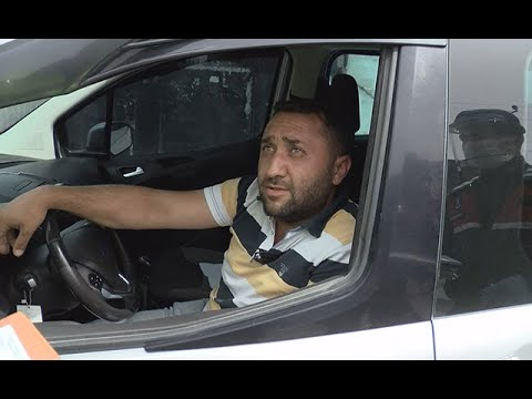 """Jandarma denetimine yakalandı: """"Evde eşim ile sürekli tartışıyorum. Ben de evden kaçtım"""""""