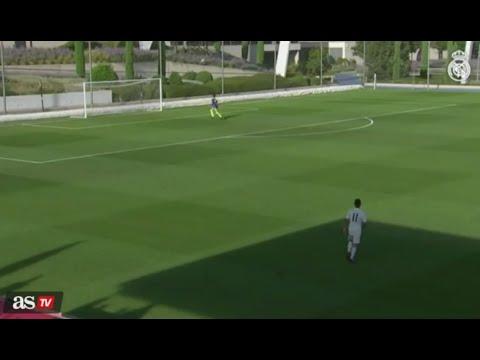 سجل الهدف الرائع لاعب في فريق ريال مدريد تحت 19 عاماً