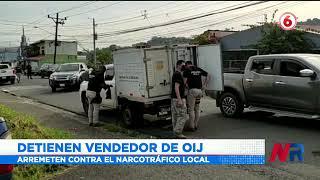 Hombre de 56 años fue detenido ante sospechas por venta de drogas en su vivienda