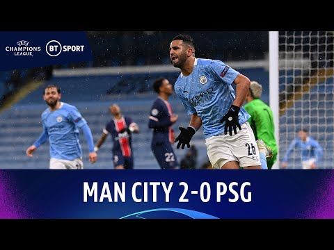 Man City v PSG (2-0) | Mahrez Brace As Citizens Reach First-Ever Final | Champions League Highlights