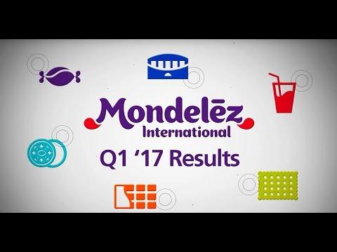 Mondelēz International Reports First Quarter 2017 Earnings
