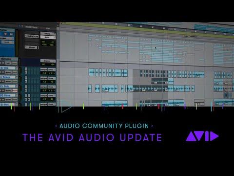 Audio Community Plugin: Avid Audio Update