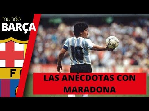 Tres anécdotas sobre Maradona explicadas en primera persona